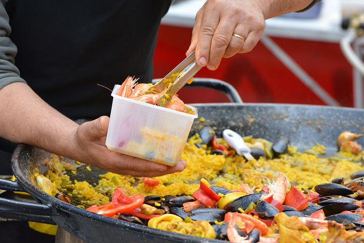 Mobile paella catering in Sydney