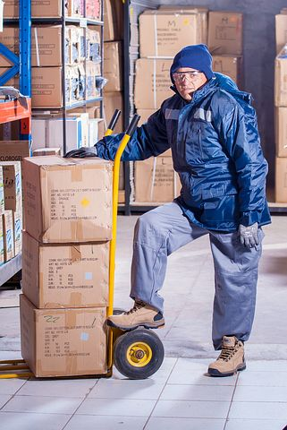 Worker of a freight forwarding company